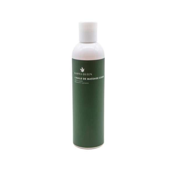 En raison de sa composition spéciale et naturelle, l'huile de massage corps au jojoba fournit une hydratation riche sans être grasse. Elle régénère la peau endommagée, par exemple après un bain de soleil, et crée une couche protectrice sur la peau grâce à la vitamine E. Avec l'action du CBD, elle pénétre profondément dans les couches de la peau et stimulele renouvellement des cellules et avoir un effet relaxant musculaire. De plus, vous bénéficiez d'une sensation de calme et de détente plus durable après le massage.